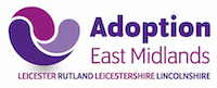 Logo of Adoption East Midlands (Lincolnshire & Rutland)