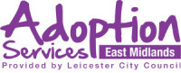 Logo of Adoption Services East Midlands provided by Leicester City Council