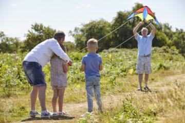 Family kite fun