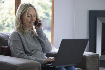 Phoning the adoption agency