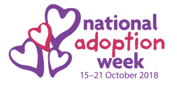 National Adoption Week 2018 logos