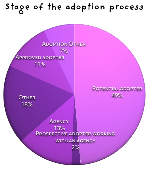 Stage of the adoption process