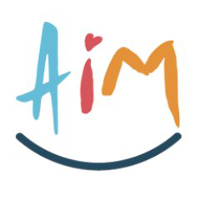 Logo of Adoption in Merseyside (AiM)