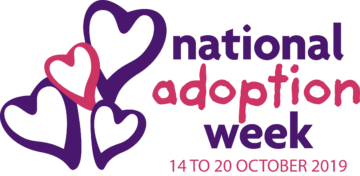 National Adoption Week 2019 logos