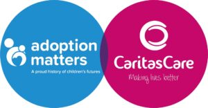 Logo of Adoption Matters and Caritas Care Concurrent Planning Service